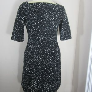 kate spade Saturday Dress Black Dotted Women's 4